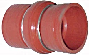 Mangueira Intercooler 63x63x110mm - S/anel Aco Caminhão Vw 8  - Farecar Comercio