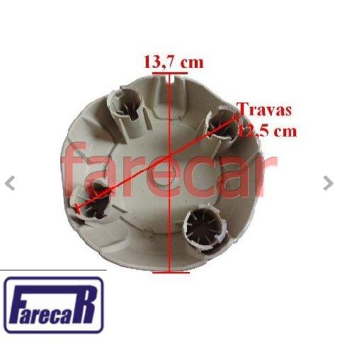 Calota Centro Miolo De Roda Vw Saveiro G5 Tropper Grafite  - Farecar Comercio