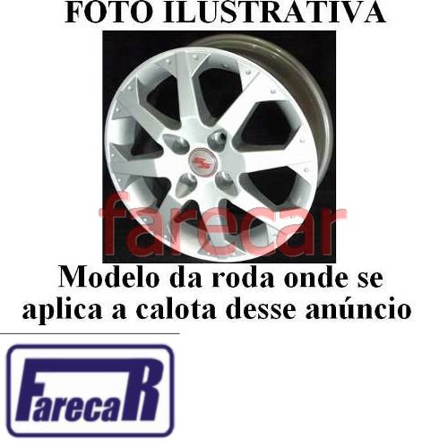 Calota Tampa Miolo Roda Original Gm Corsa Ss Astra Meriva  - Farecar Comercio