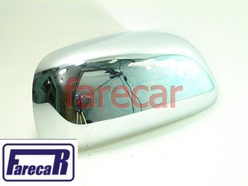 Capa Espelho Retrovisor Hilux Srv 06 A 09 Cromada Sw4 Usada  - Farecar Comercio