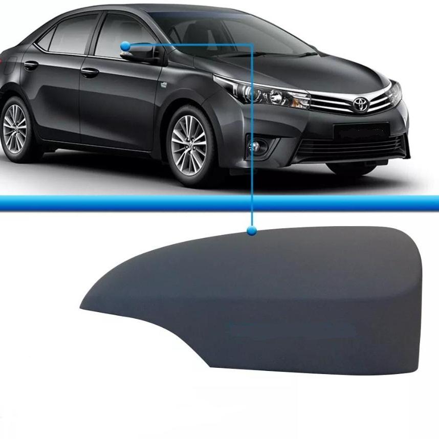 Capa para pintar primer do espelho retrovisor Toyota Corolla Corola 2014 2015 2016 2017 14 15 16 17  - Farecar Comercio