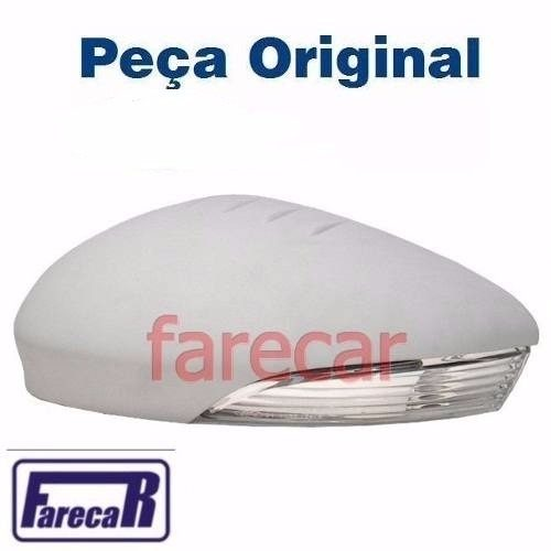 Capa primer com pisca do espelho retrovisor Original Ford New Fiesta 2013 2014 2015 2016 2017 13 14 15 16 17 - Farecar Comercio