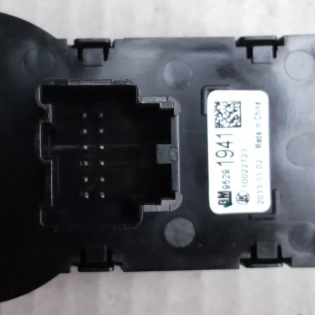 chave comando regula farol luz neblina e botao farol milha 12 pinos  original Gm 95291941 Spin 2013 2014 GM Tracker 2014 2015 2016  - Farecar Comercio