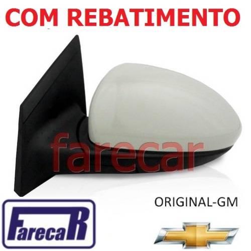 espelho retrovisor original Gm Metagal Cruze LTZ LT eletrico com fechamento automatico rebatimento Foldway 2012 2013 2014 2015 2016 12 13 14 15 16  - Farecar Comercio