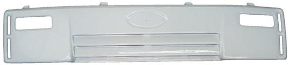 GRADE DIANTEIRA PLASTICO COM 3 FREZOS- Cod. 5C458C300AAXWA  - Farecar Comercio