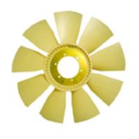 HELICE PLASTICA DO MOTOR  9 PAS C/ EMBREAGEM VISCOSA - Cod. 3825000164  - Farecar Comercio