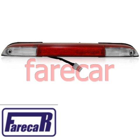Lanterna de teto luz de freio e caçamba brake light Vw Saveiro G5 G6 2008 2009 2010 2011 2012 2013 2014 2015  - Farecar Comercio