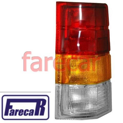 lanterna traseira tricolor GM Ipanema 1989 1990 1991 1992 1993 1994 1995 1996 1997 89 90 91 92 93 94 95 96 97  - Farecar Comercio