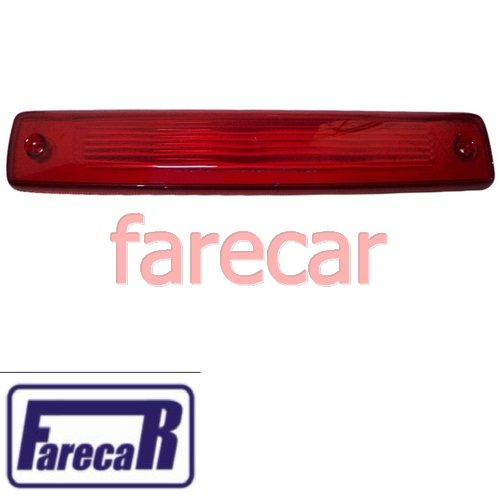 lente da lanterna do teto luz de freio break brake light Gm NOVA S10 S-10 2012 2013 2014 2015 12 13 14 15  - Farecar Comercio