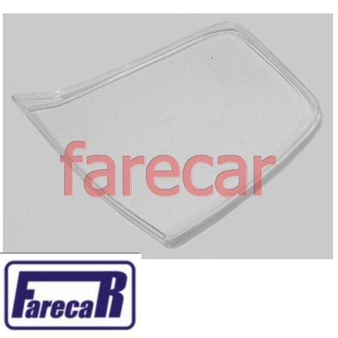 lente da lanterna pequena da tampa do porta malas Vw Spacefox 2006 2007 2008 2009 06 07 08 09  - Farecar Comercio