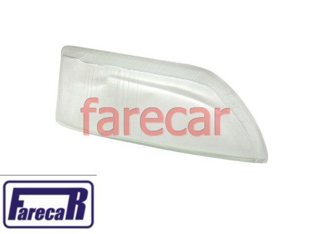 LENTE VIDRO LADO DIREITO DO FAROL ESCORT XR3 DUPLO 1993 A 1995  - Farecar Comercio