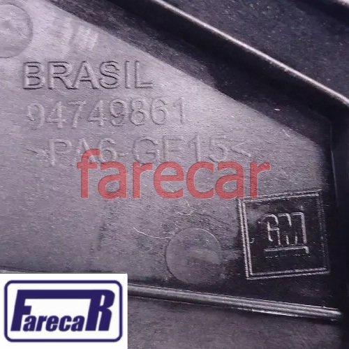 Moldura Paralama Ponta do Espelho Retrovisor Externo Lado Esquerdo Original GM 94749861 52051513 Spin 2012 2013 2014 2015 2016 2017 12 13 14 15 16 17  - Farecar Comercio