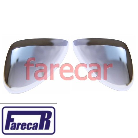 PAR CAPA CROMADA DO ESPELHO RETROVISOR AIR CROSS AIRCROSS  - Farecar Comercio