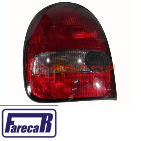 par de lanternas traseira fume Gm Corsa Wind hatch 2 portas 1994 a 1999  - Farecar Comercio