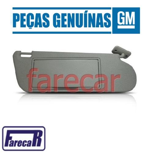 Para Quebra Sol Lado Direito Com Espelho Original GM 93297322 Astra e Zafira 1999 2000 2001 2002 2003 2004 2005 2006 2007 2008 2009 2010 2011  - Farecar Comercio