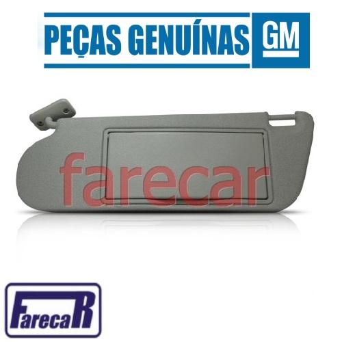 Para Quebra Sol Lado Esquerdo Original GM com Espelho Original GM 93297323 Astra e Zafira 1999 2000 2001 2002 2003 2004 2005 2006 2007 2008 2009 2010 2011  - Farecar Comercio
