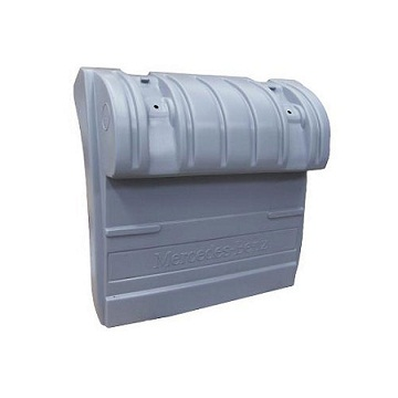 PARALAMA TRASEIRO LADO ESQUERDO PLASTICO - Cod. 9305200020  - Farecar Comercio