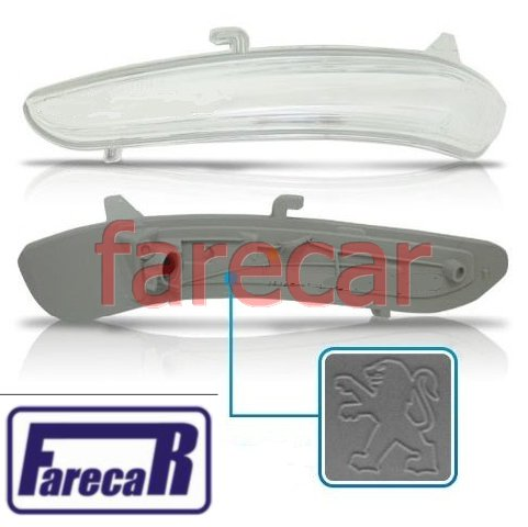 pisca da capa do espelho retrovisor Peugeot 208 2013 2014 2015 13 14 15  - Farecar Comercio