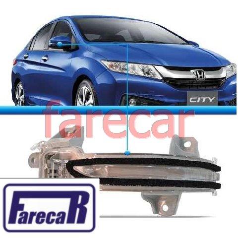 Pisca Da Capa Espelho Retrovisor Original Honda  Fit 2015 2016 City 2015 2016  - Farecar Comercio