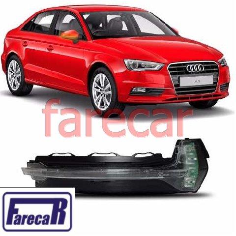 Pisca da Capa do Espelho Retrovisor Audi A3 2014 2015 2016 14 15 16  - Farecar Comercio