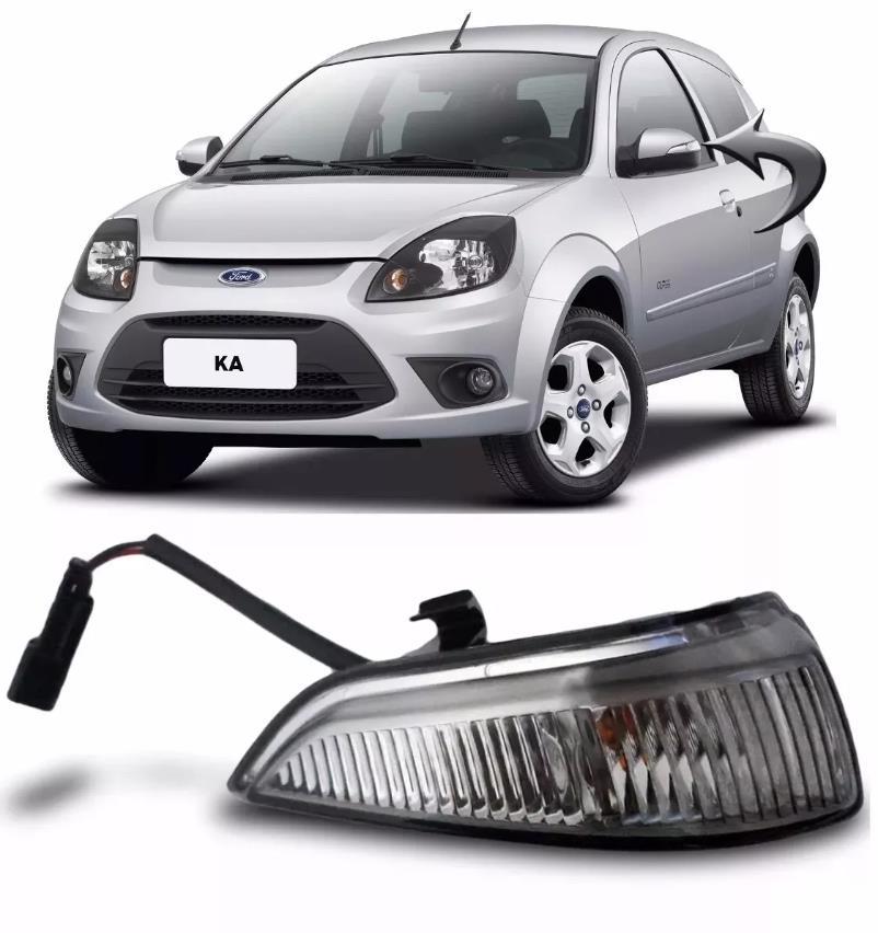 pisca lado esquerdo da capa do espelho retrovisor ford ka 2008 a 2013  - Farecar Comercio