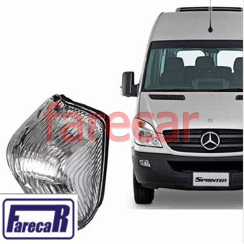 Pisca Seta Direita da Capa do Retrovisor Mercedez Benz Sprinter 2012 2013 2014 2015 2016  - Farecar Comercio