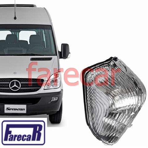 Pisca Seta Esquerda da Capa do Retrovisor Mercedez Benz Sprinter 2012 2013 2014 2015 2016  - Farecar Comercio