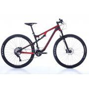 Bicicleta 29 Oggi Cattura  Sport Carbon Full Susp Deore  2019