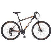 Bicicleta GTA  Comp 329 aro 29 Freio Hidráulico 21v Preto/Laranja