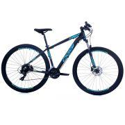 Bicicleta Oggi Hacker HDS aro 29 24v  Hidraulico Azul