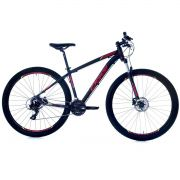 Bicicleta Oggi Hacker HDS aro 29 24v  Hidraulico Verm.