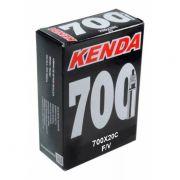 Câmara de ar  700x20c Kenda Bicicleta Speed Presta 33mm