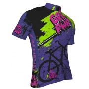 Camisa  de Ciclismo Feminina ERT Advanced Girl Power