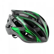 Capacete High One Preto/Verde MV88