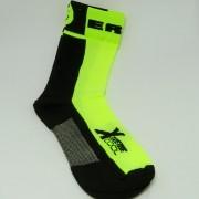 Meia Ert Xtreme Cool  Verde/Preto