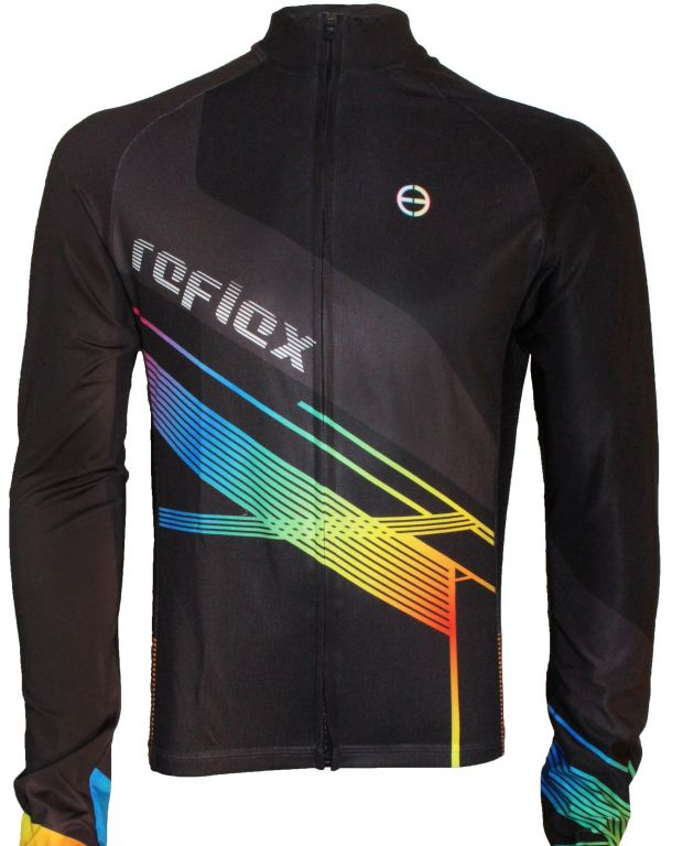 Camisa Ciclismo Ert Advanced Reflex Manga Longa