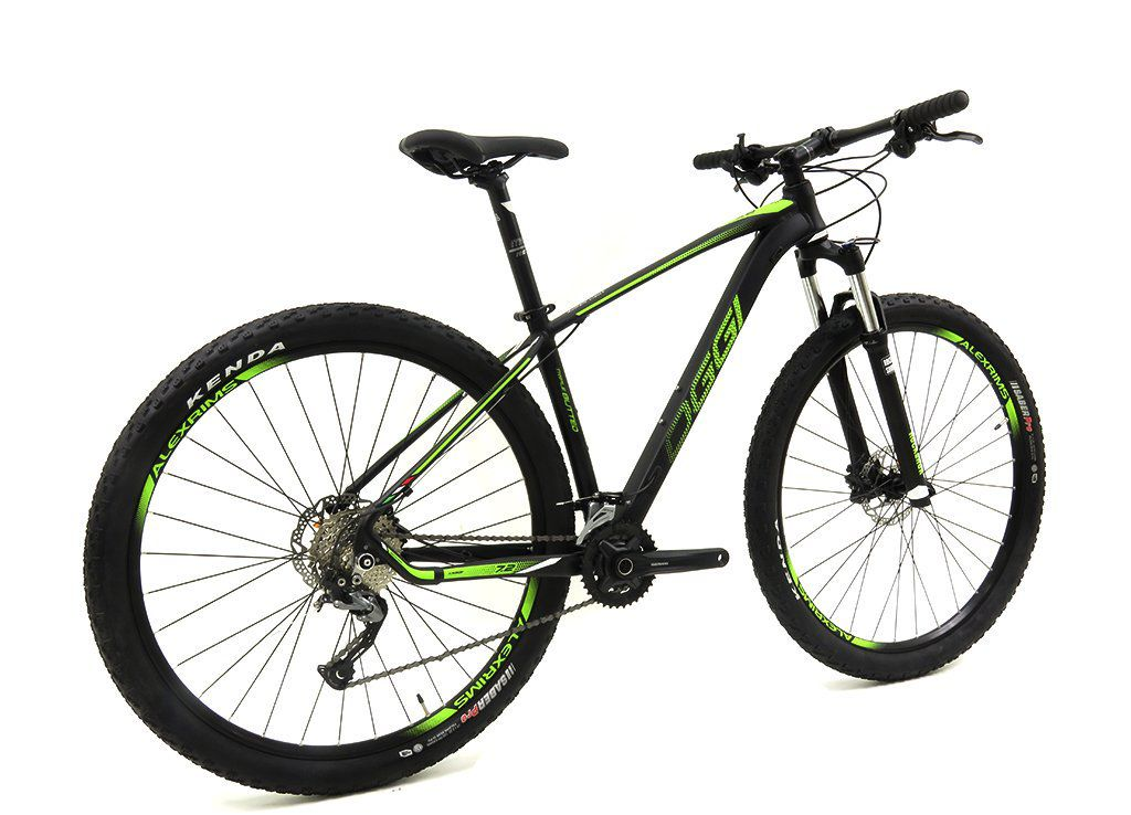 BICICLETA 29 OGGI BIG WHEEL 7.2  2019 18V  PRETO/VRD/BRANCO