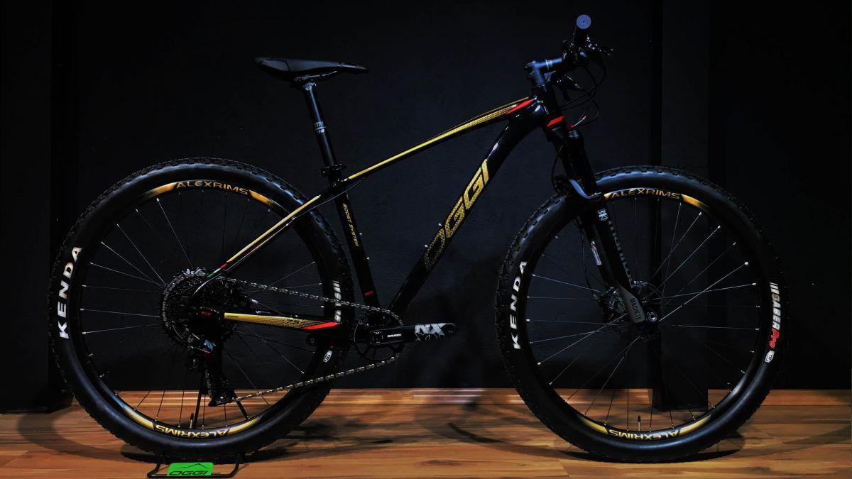 BICICLETA 29 OGGI BIG WHEEL 7.5  SL Eagle 12 vel 2020 Verm/Dourado