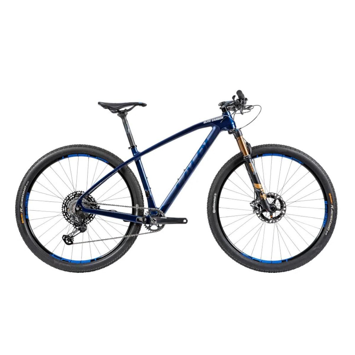 Bicicleta Caloi Elite Carbon Team