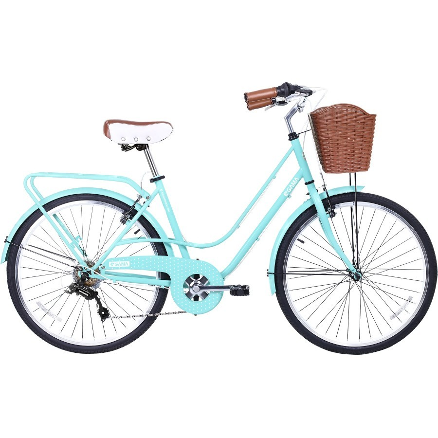 Bicicleta Gama City Avenue Turquoise