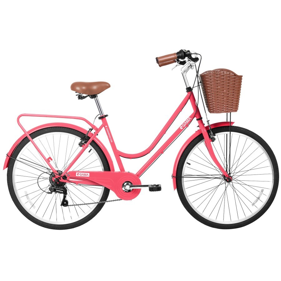 Bicicleta Gama City Basic Coral