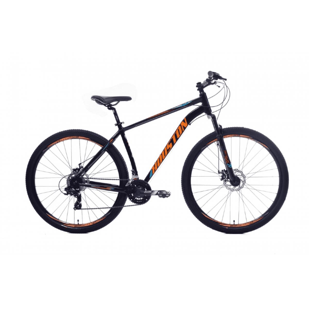 Bicicleta Mtb Houston Skyler 21v 2020 Preto/laranja