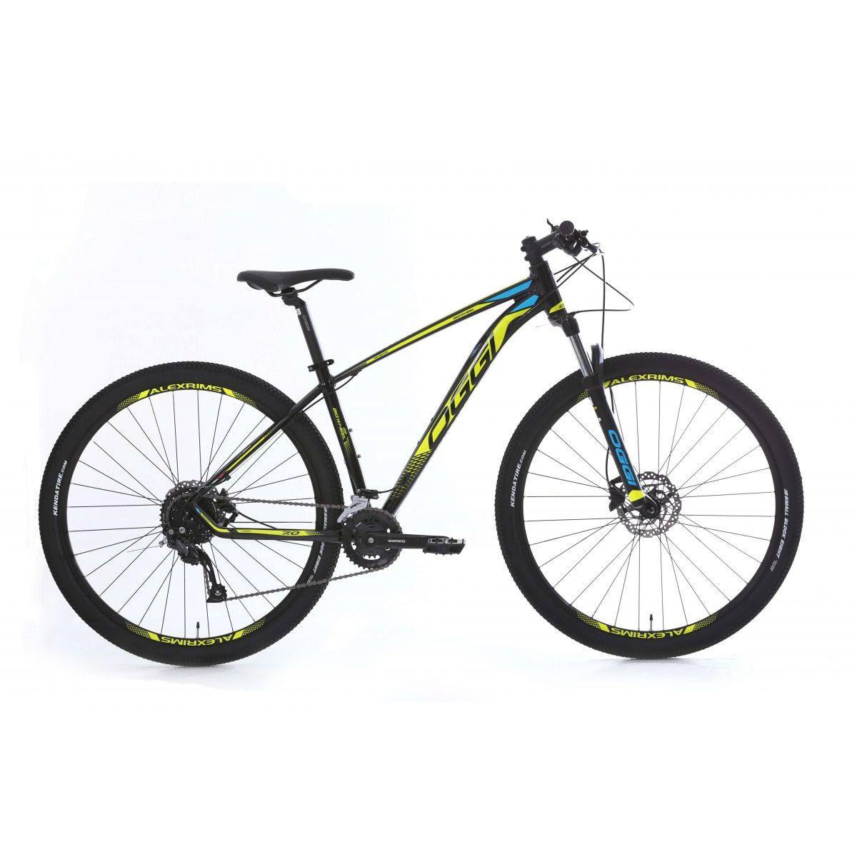 Bicicleta Oggi Big Wheel 7.0  18v 2020 aro 29 Amarelo/Azul
