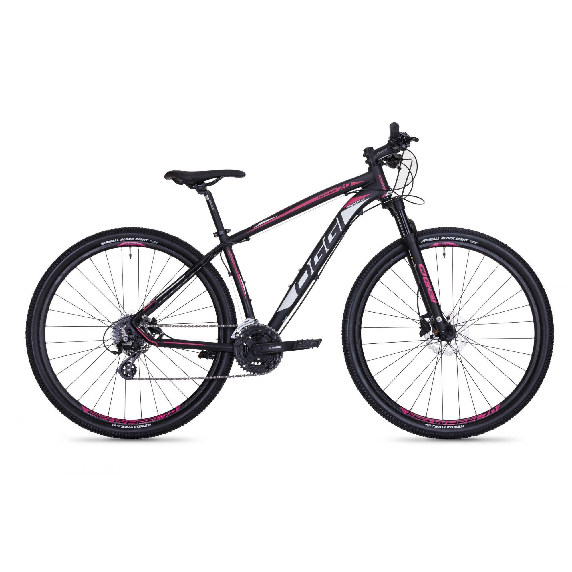 Bicicleta Oggi Big Wheel 7.0 2018 aro 29 Preto/Rosa/Branco