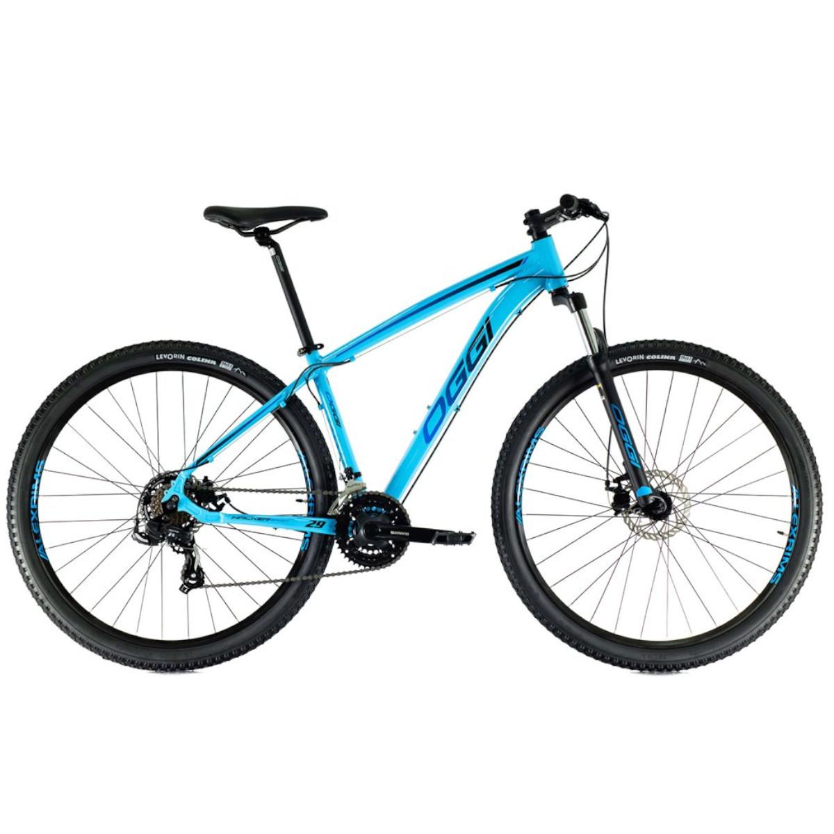 Bicicleta Oggi Hacker Sport  aro 29 21v  2021 AZUL