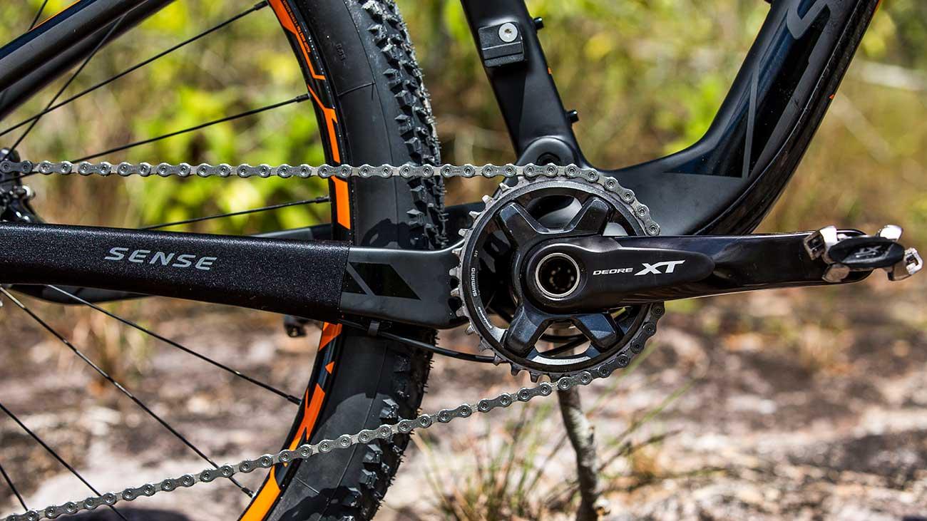 Bicicleta Sense Invictus EVO full Carbono aro 29