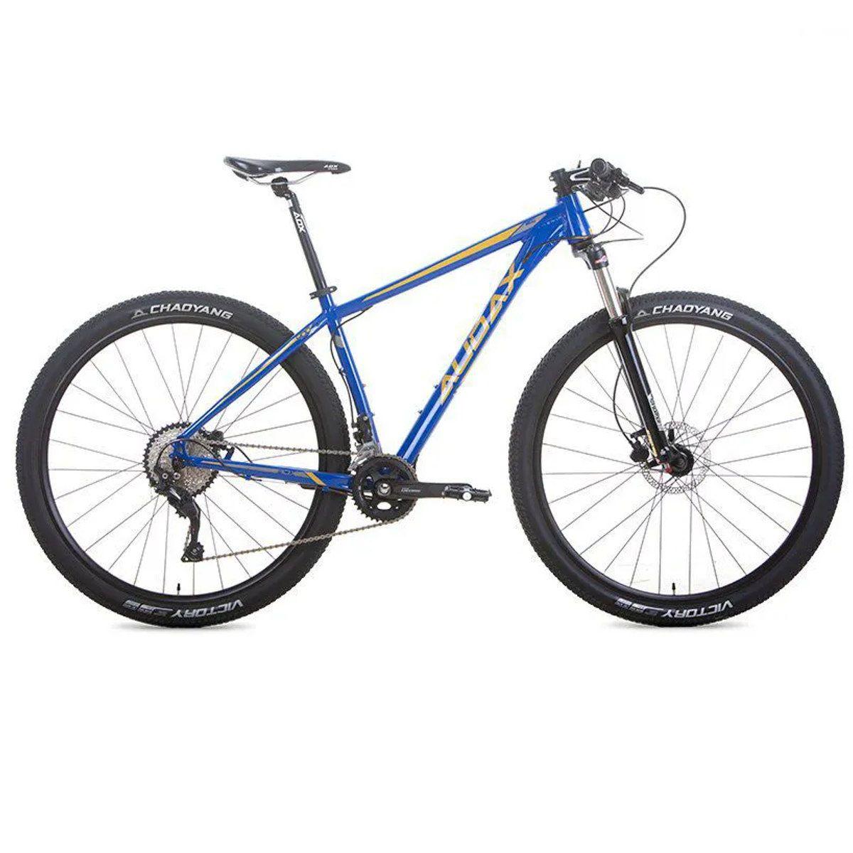 Bike Audax ADX 400 Aro 29 20v  Deore Hidráulico Azul