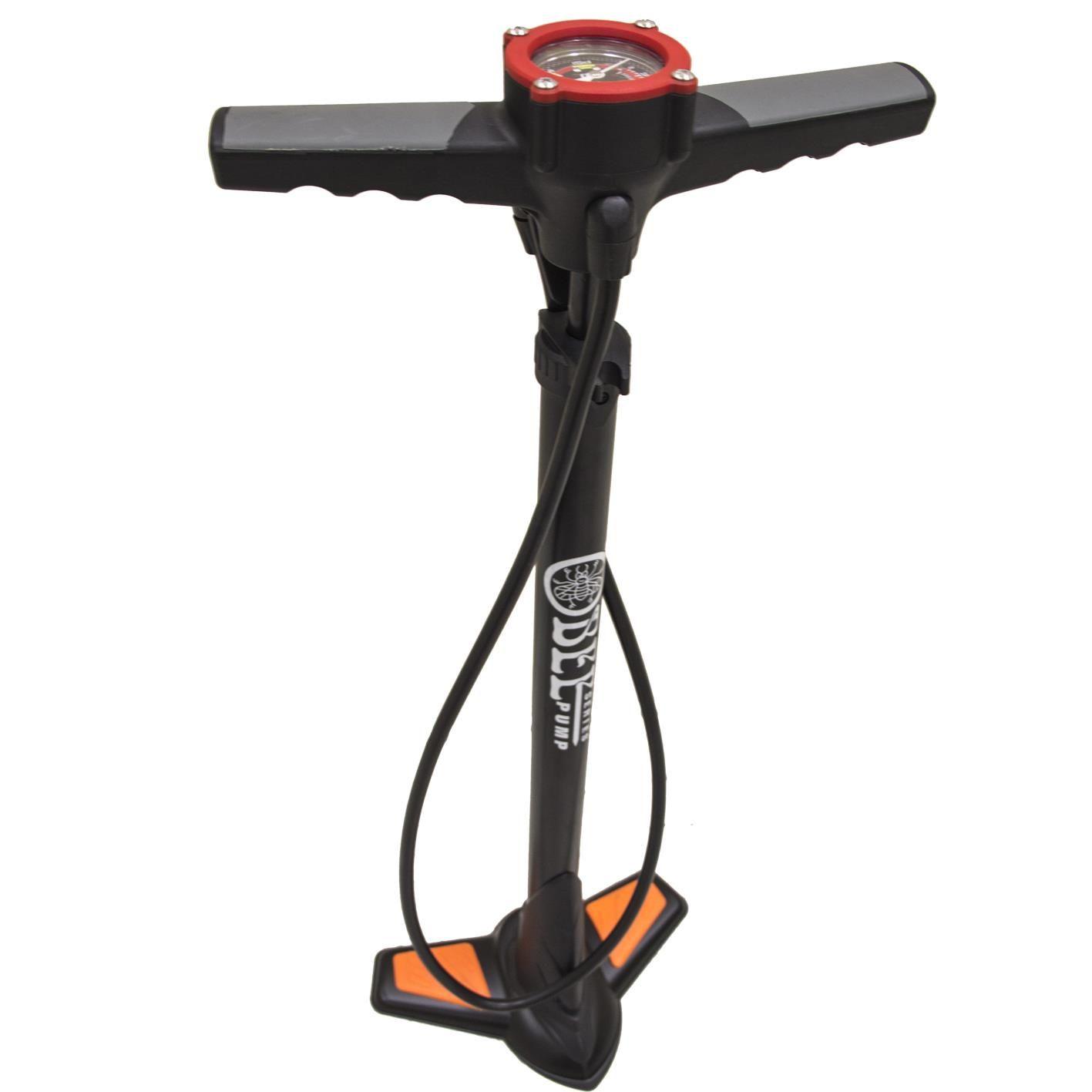 Bomba de Ar para Bike - de Pé- com Manômetro