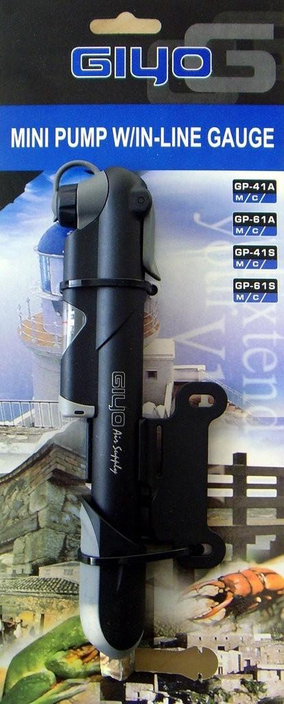 Bomba Telescópica Compacta Giyo GP-61S Com Manômetro