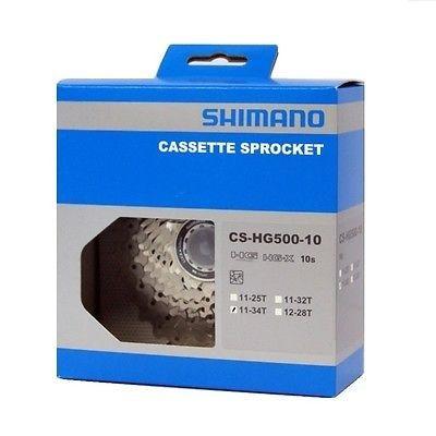 Cassete Speed Shimano Tiagra Cs-Hg500 10v 12-28t